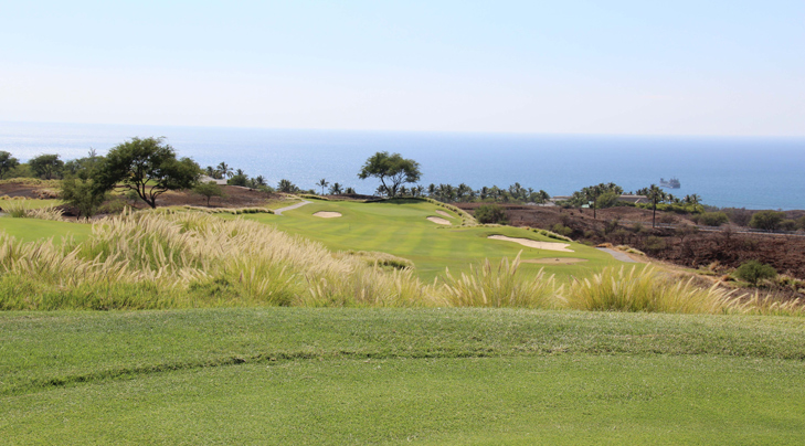 Hapuna Golf Picture, Big Island Hawaii Golf Photo