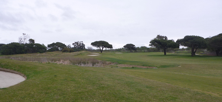 Olivas Links Golf Course #17  Picture