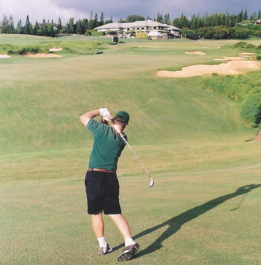 Maui Golf Picture, Plantation Course #9 Photo