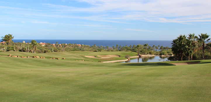 Cabo del Sol Golf Hole #18 Picture