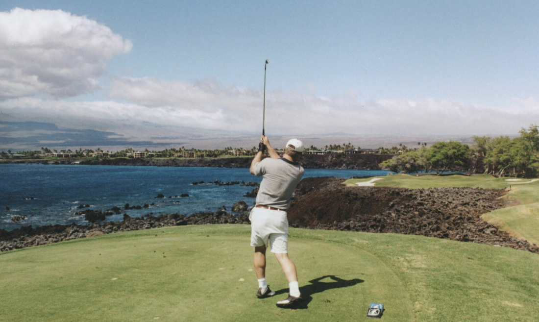 Hawaii Golf Review Picture, Big Island Golf Photo