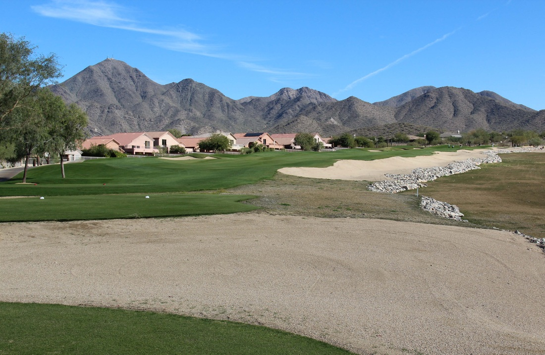 Arizona Golf Picture, McDowell Mountain Golf Course #18 Photo