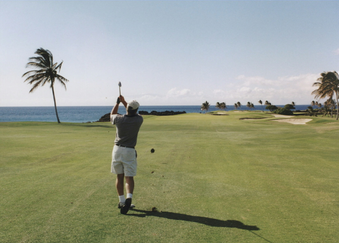Mauna Lani #13 Picture, Big Island Golf Photo