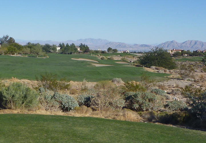 TPC Las Vegas #15 Picture, Vegas Golf course Photo