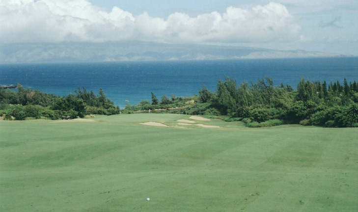 Maui Golf Picture, Plantation Course #7 Photo