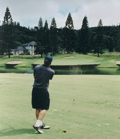 Lanai Golf Picture, Experience at Koele  #8 Photo