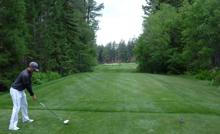 Incline Village Championship Golf Course Hole #9 Picture