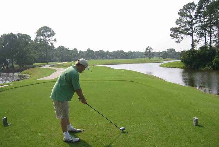 Sawgrass Country Club Hole #4 Photo