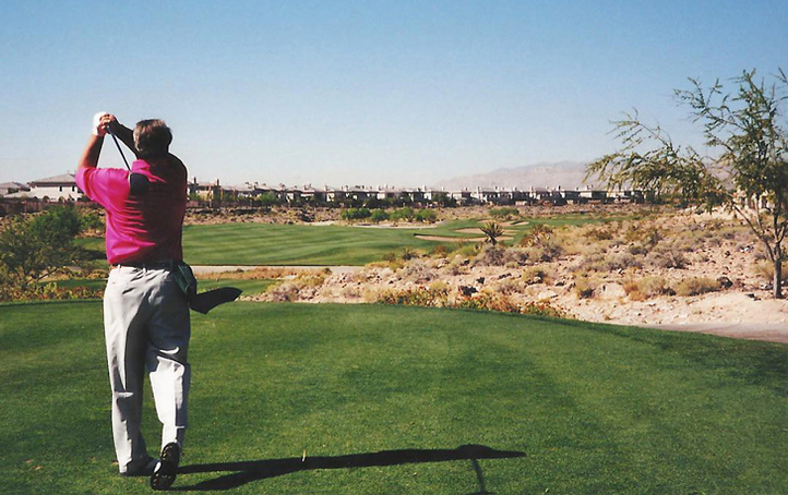 TPC Las Vegas #8 Picture, Vegas Golf course Photo