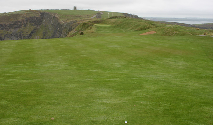 Old Head Golf Links #12 Approach Photo