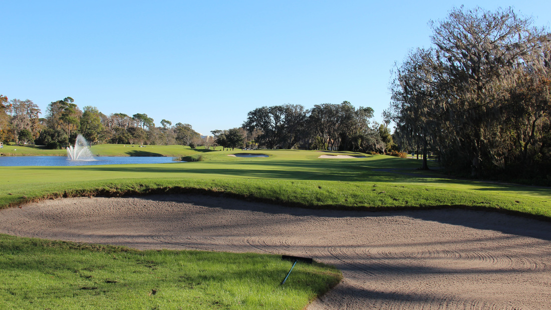 Orlando Golf Picture, Disney's Magnolia Golf Course #9 Photo