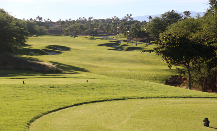 Mauna Kea Picture, Big Island Golf Photo