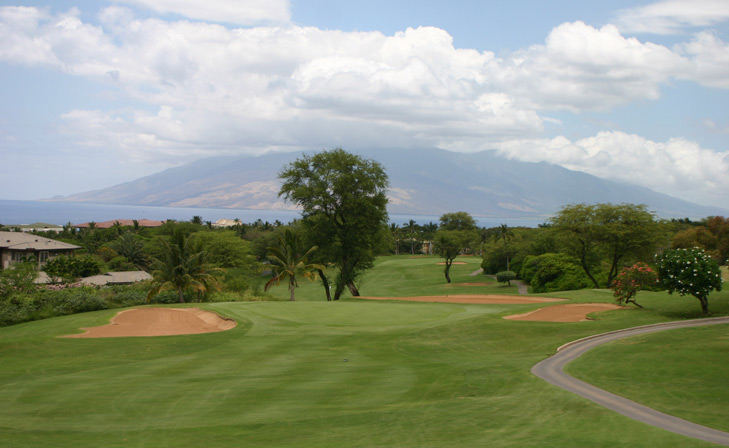 Maui Golf Photo, Wailea Blue #4 Photo