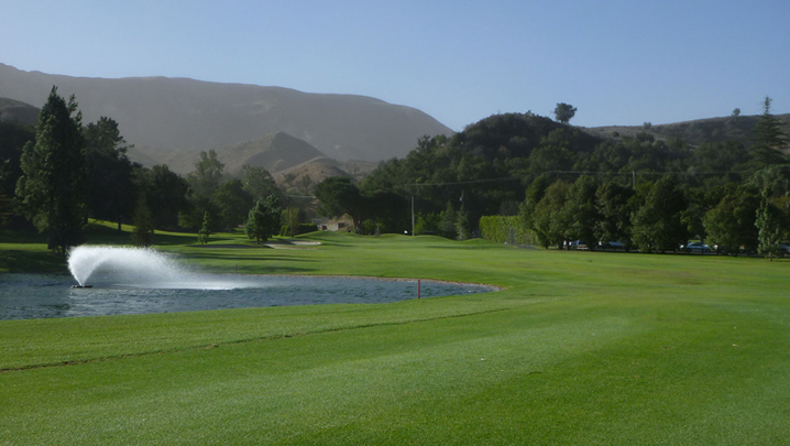 Elkins Ranch Golf Hole #9 Picture