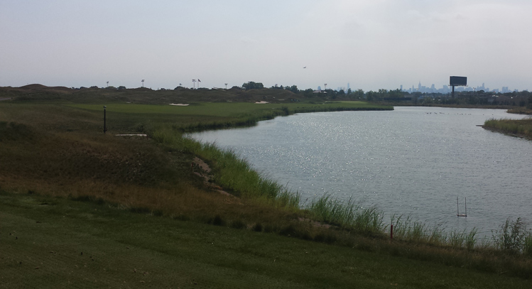 Trump Ferry Point Golf Hole #7 Picture