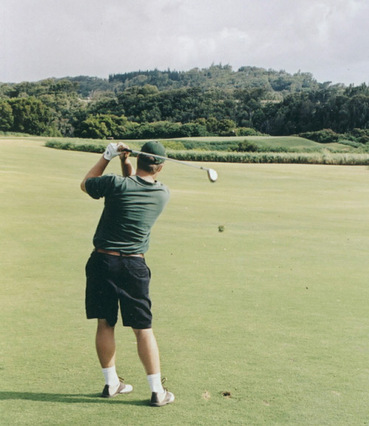 Maui Golf Picture, Plantation Course #5 Photo