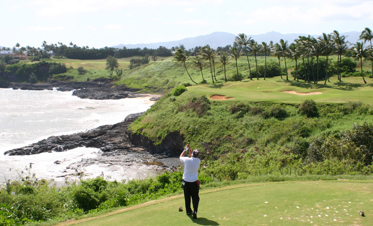 top golf photo, golf top 18 photo, golf top 100 photo, dream golf photo, Kauai Lagoons Golf Picture