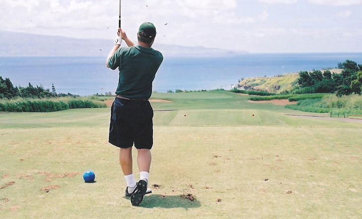 Maui Golf Picture, Plantation Course #11 Photo