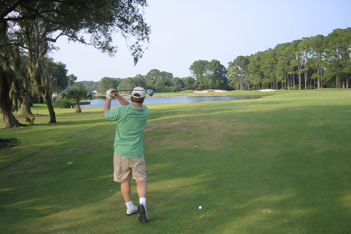 Sawgrass Country Club Hole #9 Photo
