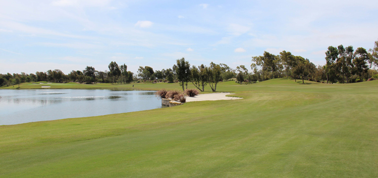 Old Ranch Country Club Golf Hole #6 Picture