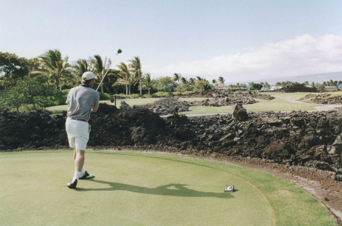 Mauna Lani #14 Picture, Big Island Golf Photo