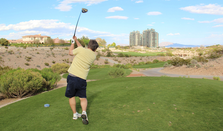 Badlands Golf Picture, Las Vegas Golf Photo, Badlands Diablo Golf Photo, Vegas Golf Review Photo