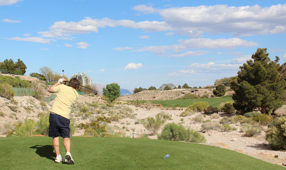 Vegas golf Picture, vegas golf review photo, badlands golf photo