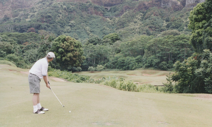 top golf photo, golf top 18 photo, golf top 100 photo, dream golf photo, Koolau #18 Golf Picture