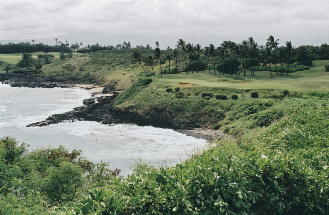 Kauai Lagoons Golf Course Picture, Top Golf Course Photo, Top Golf Hole Photo, Kiele Golf Photo, Kauai Golf Photo
