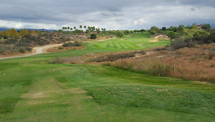Morongo Tukwet Champions Golf Hole #9 Picture