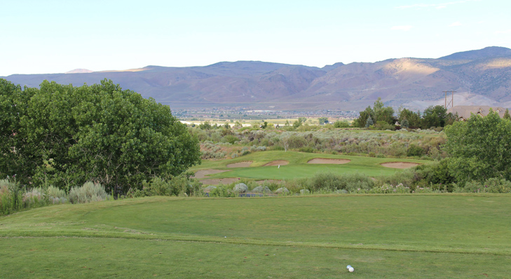 top reno golf photo, nevada golf review photo, reno golf review Picture, wolf run #17 photo