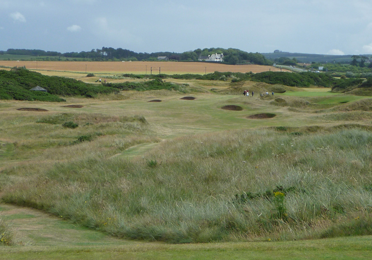 Scotland Golf Picture, Royal Troon Old Course #7 Photo