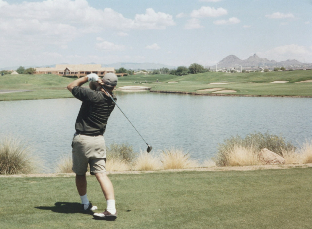 Arizona Golf Picture, Tournament Players Course at Scottsdale #18 Photo
