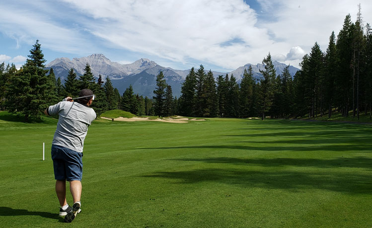 Banff Springs golf course #1 Picture