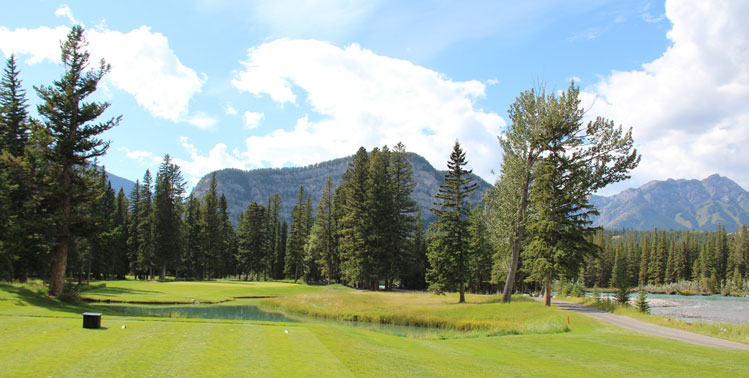 Banff Springs golf course #8 Picture
