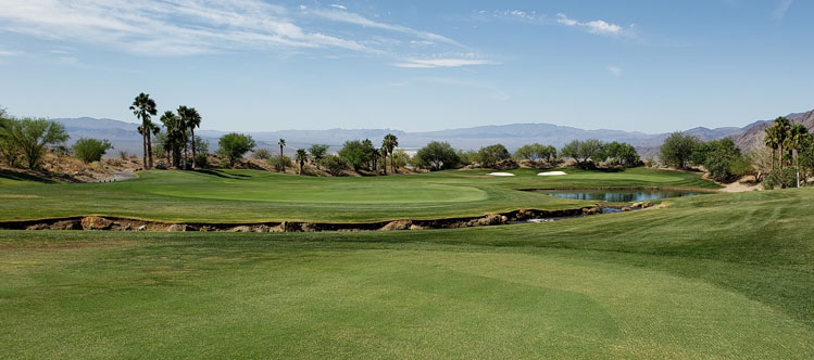 Cascata Golf Hole #18 Picture