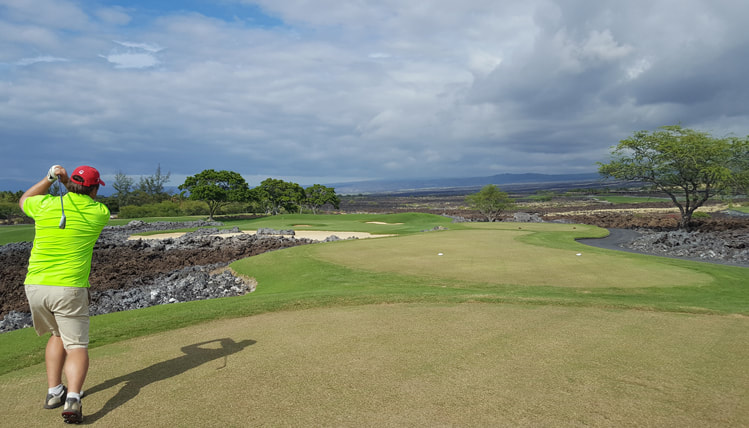 Hualalai Golf Course #12 Picture