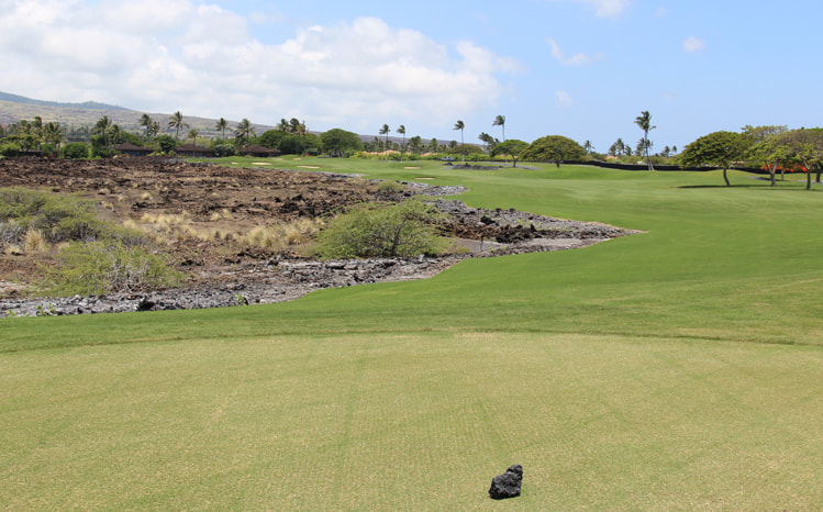 Hualalai Golf Course Hole #14 Picture