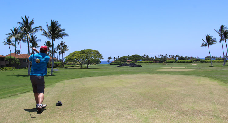 Hualalai Golf Course Hole #15 Picture