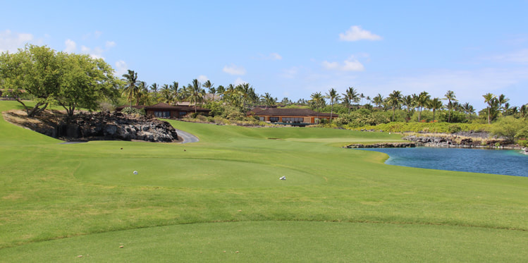 Hualalai Golf Course Hole #5 Picture