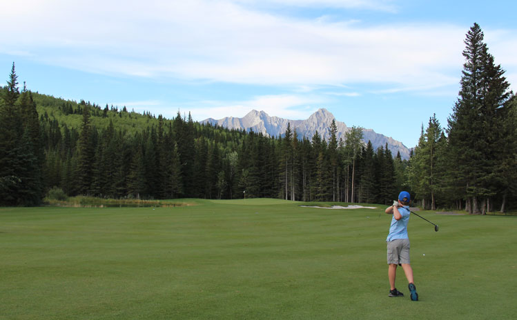 Kananskis Golf Mt Kidd Picture