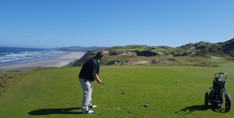Pacific Dunes Golf Hole 11 Picture