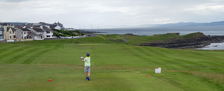 Northern Ireland Ocean Golf Picture