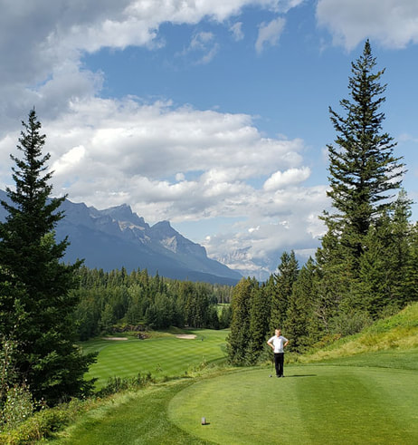 Stewart Creek Golf Hole #1 Picture