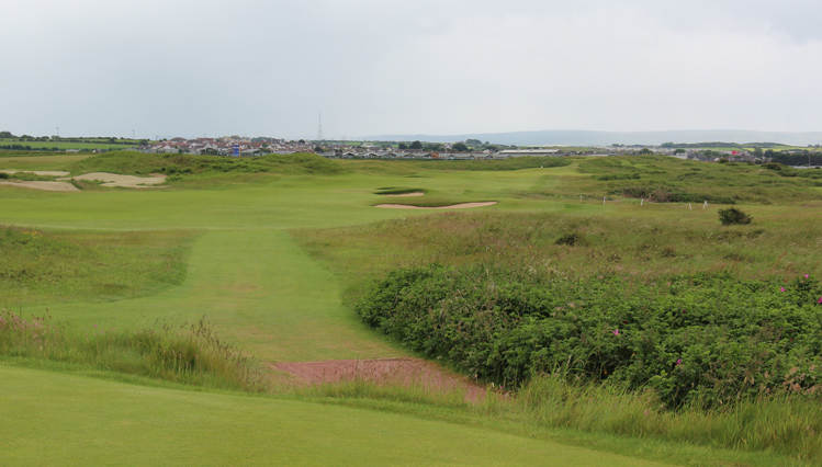 Royal Portrush Dunluce Links Hole 12 Picture