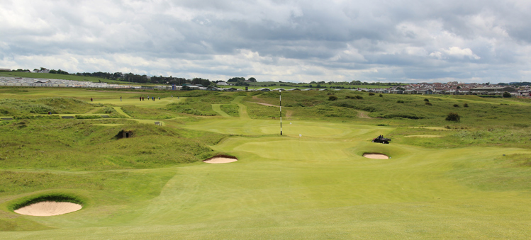 Royal Portrush Golf Hole #15 Picture
