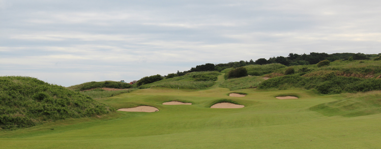 Royal Portrush Dunluce Links Hole 2 Picture