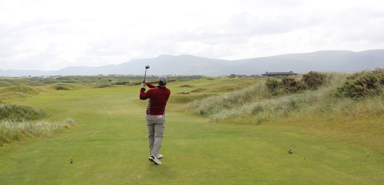 Matt Barcellona Ireland Golf Picture